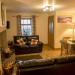 Self-catering cottage in Northumberland, Grayling cottage living area