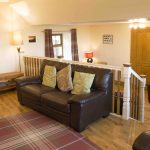 Self-catering cottage in Northumberland, Grey Seal cottage living upper