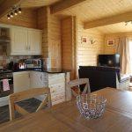 Coastal Cottage n Northumberland - Grey Heron Lodge Kitchen