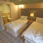 Self-catering cottage in Northumberland, Millstone cottage twin bedroom