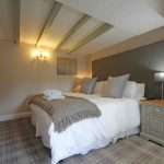 Self-catering cottage in Northumberland, Old Mill cottage double bedroom