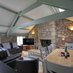 Self-catering cottage in Northumberland, Old Mill cottage living and dining room