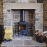 Self-catering cottage in Northumberland, Goosander cottage woodburning stove