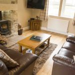 Self-catering accommodation in Northumberland, Pippin cottage living room