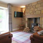 Coastal Cottage n Northumberland - Rosefinch Cottage Lounge