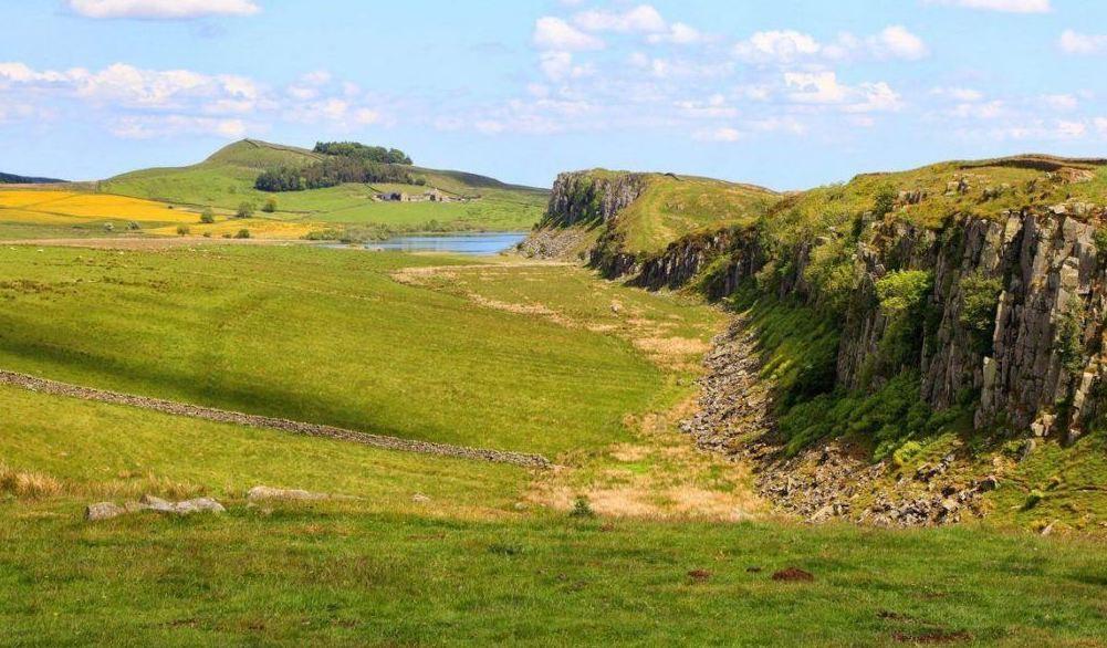 Steel Rigg and Crag Lough Walk Northumberland